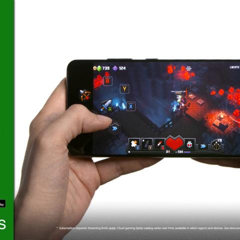 《我的世界 地下城》是首款完全支持虚拟按键的Xbox云游戏