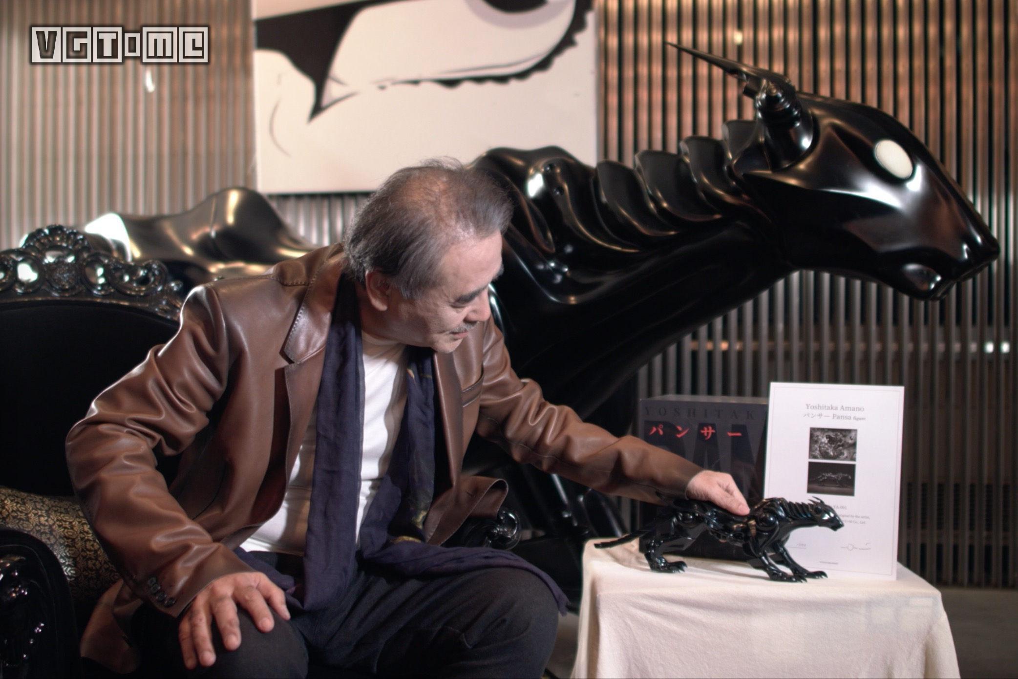 天野喜孝「PANSA 通往未来世界的时光机」珍藏版限定手办即将全球