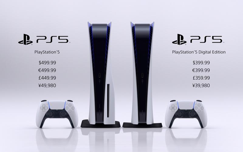 PS5发布会汇总:价格、发售日、首发阵容、向下兼容
