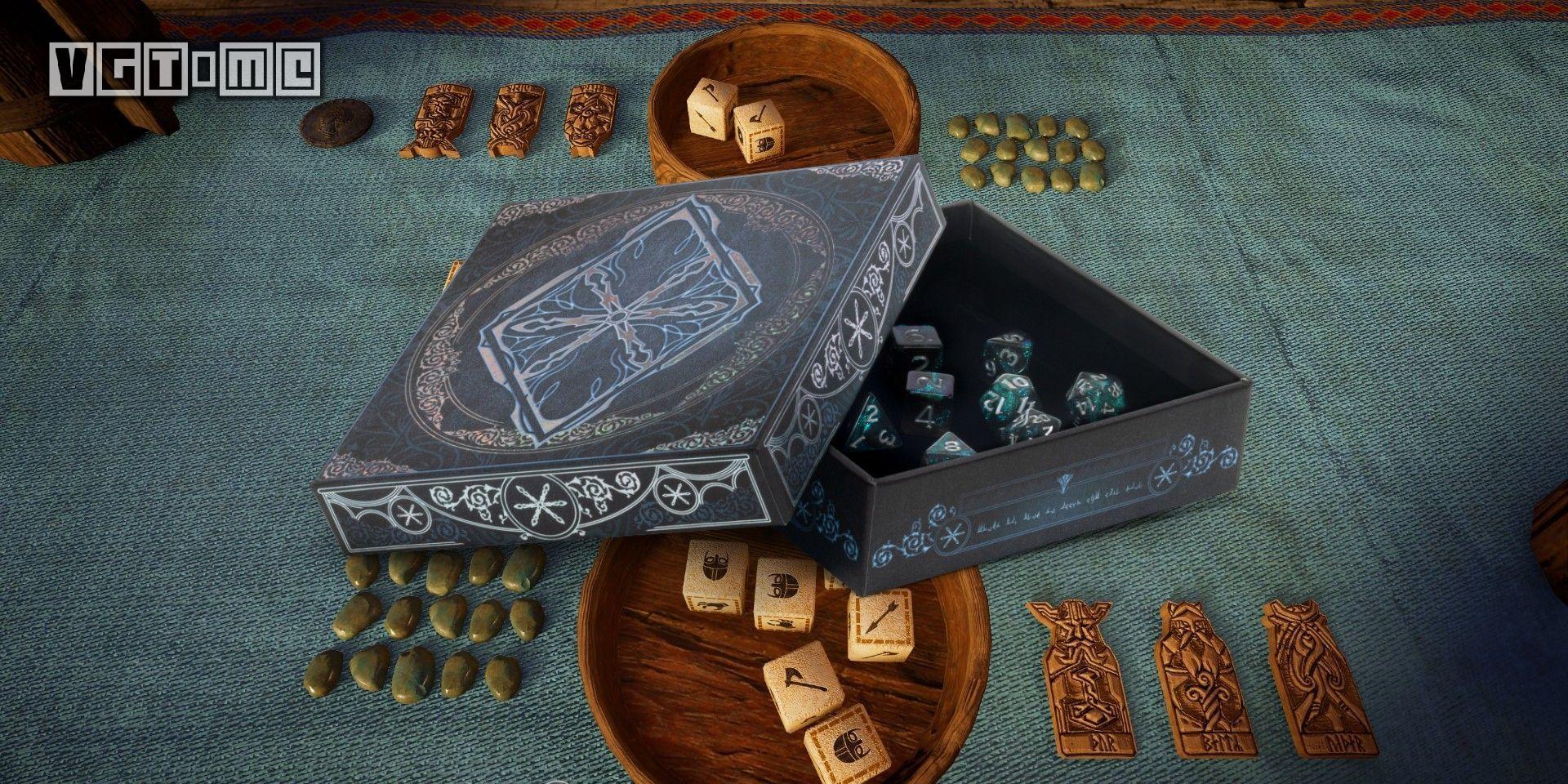 《刺客信条 英灵殿》「骰子小游戏」实体桌游2021年推出