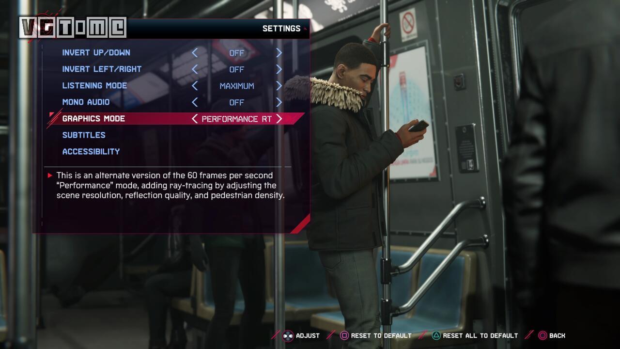 PS5版《漫威蜘蛛侠 迈尔斯·莫拉莱斯》更新后可以实现