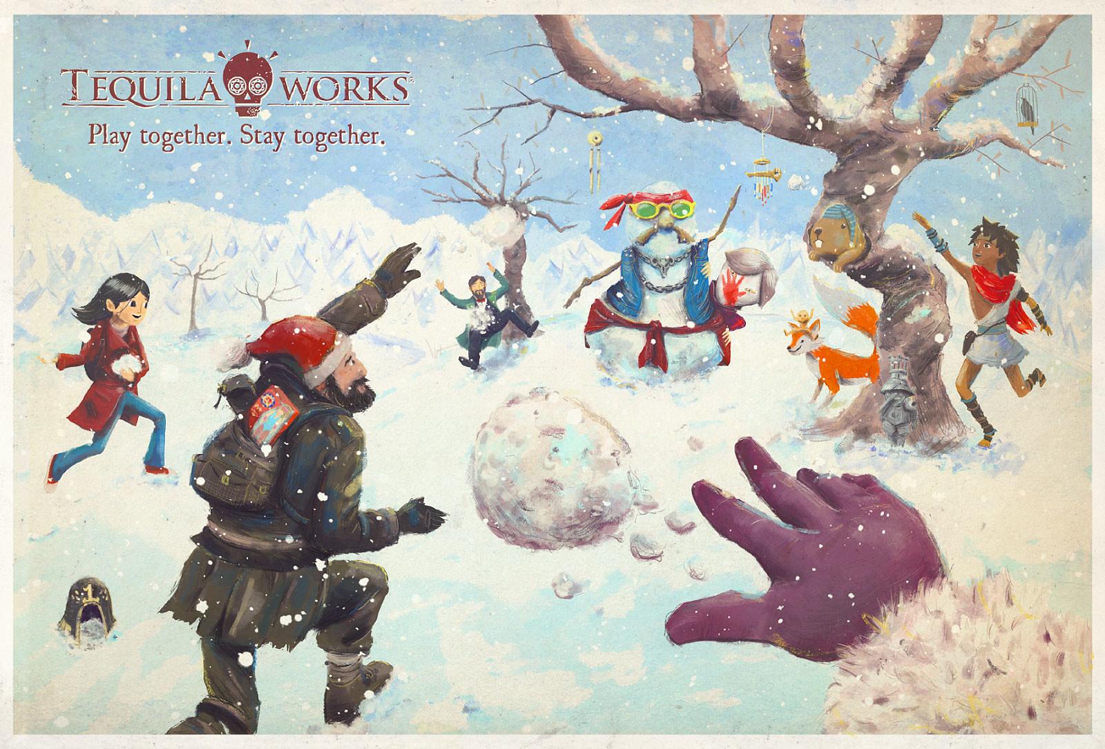 【收图了】PlayStation官博放出大量圣诞贺图