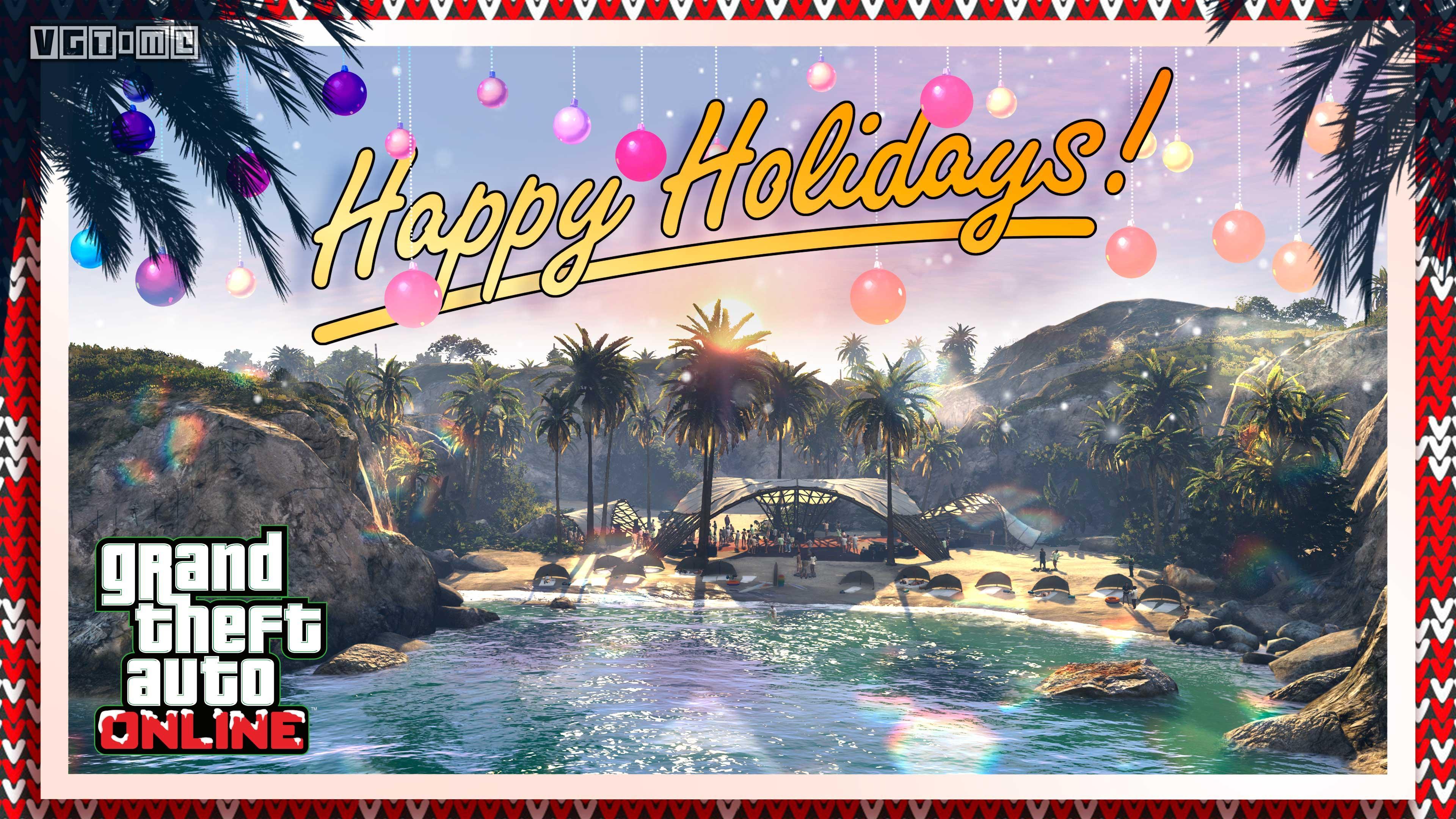 《GTA Online》圣诞活动和全新音乐柜演出现已开启