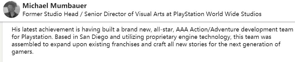 索尼神秘工作室可能在为「现有知名系列」做新作