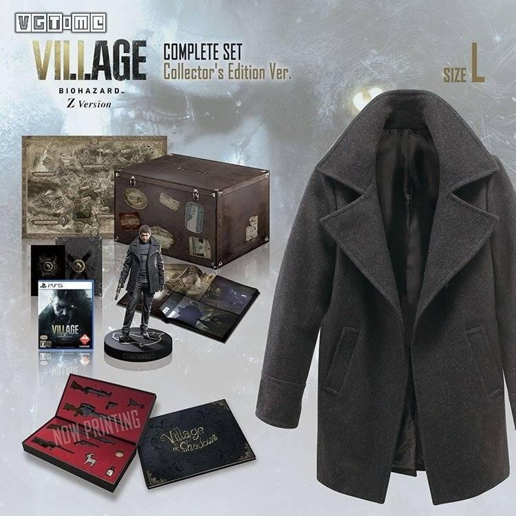卡普空推出《生化危机 村庄》限定版 包含克里斯同款外套