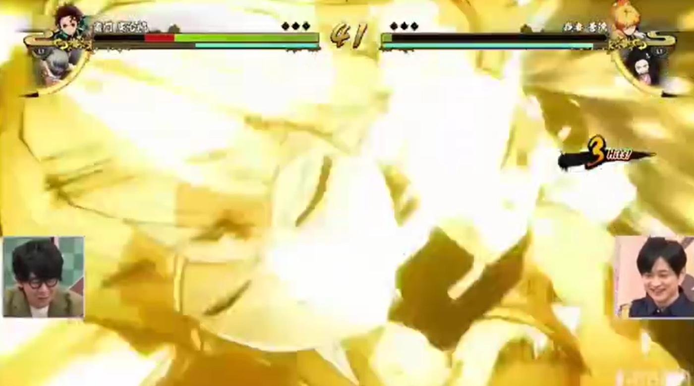 漫改格斗游戏《鬼灭之刃 火神血风谭》实机演示公开