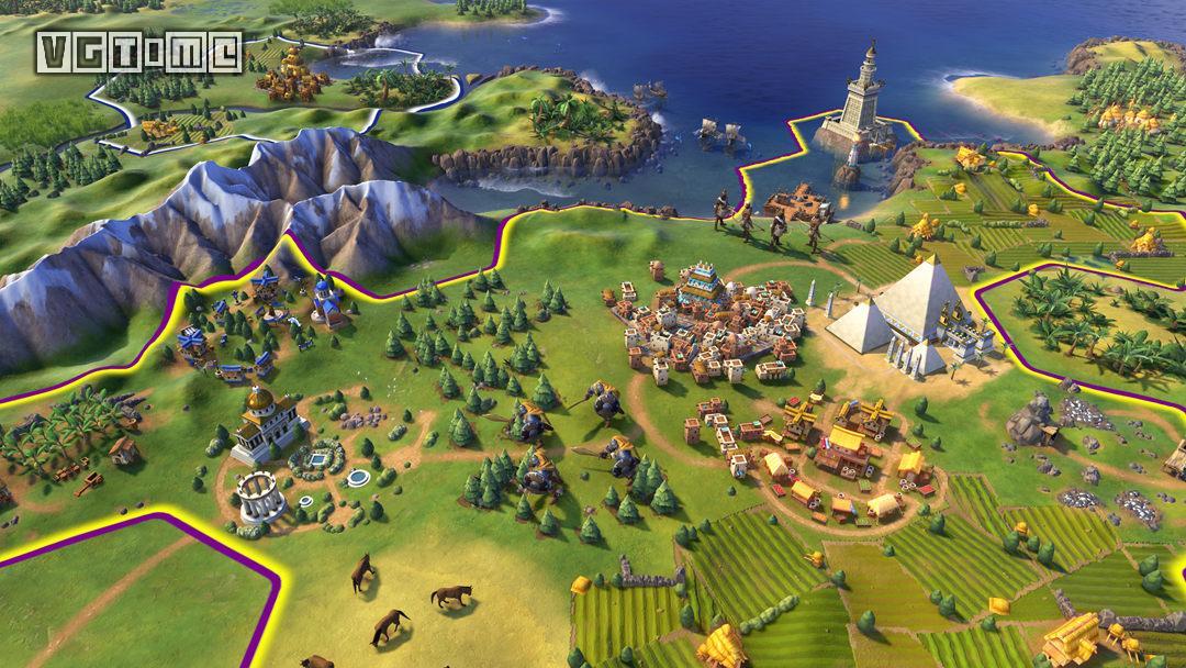 《文明6》二月更新现已上线,新增「蛮族氏族」模式