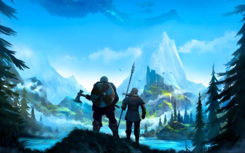 """来自瑞典的《英灵神殿》,是""""砍树游戏""""的集大成者"""