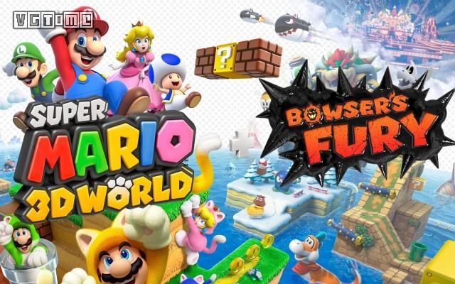 英国游戏周销量:《超级马力欧3D世界+狂怒世界》四连冠