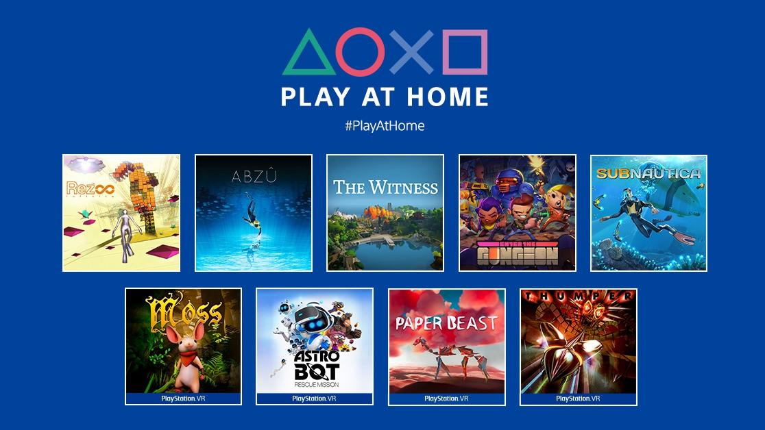 索尼公布新一期「Play At Home」游戏名单