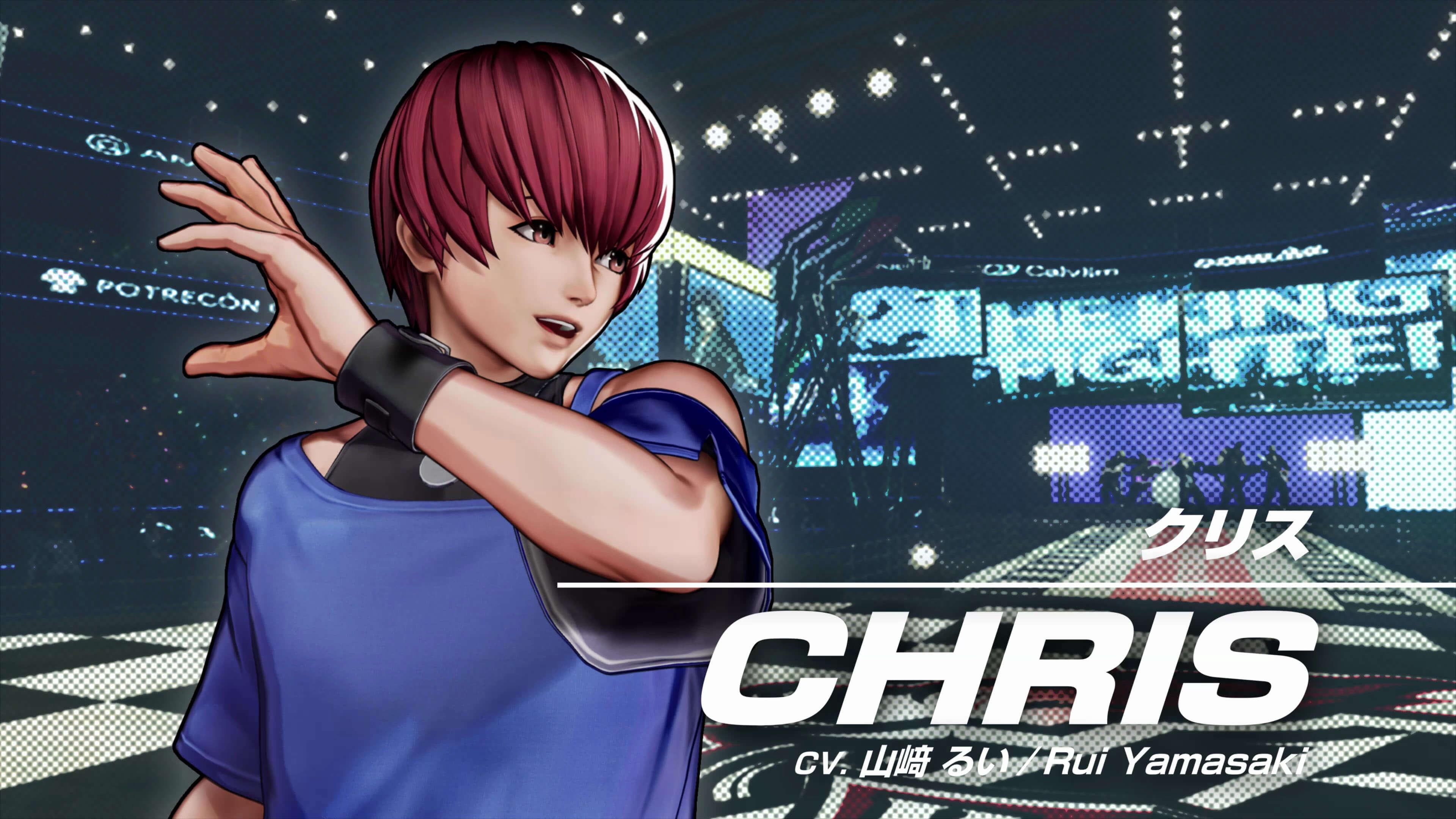 《拳皇15》美少年「克里斯」角色宣传影像公布