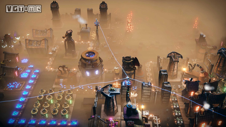 飞行都市经营建造 《梦幻引擎:游牧城市》开启抢先体验