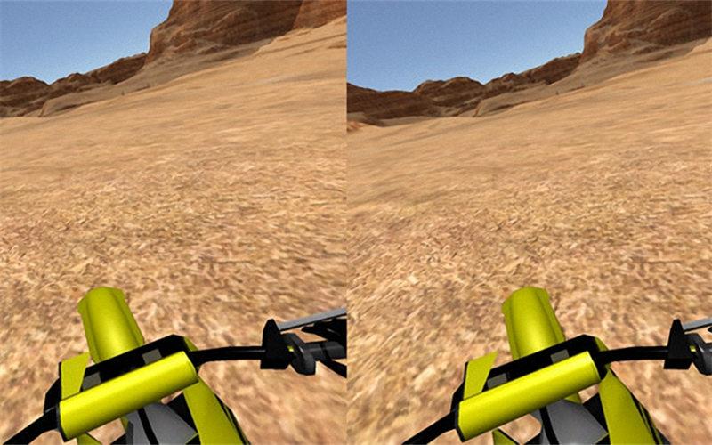 摩托特技表演_VR摩托车模拟 纸盒版 - 爱玩VR - 最全的VR游戏资源库
