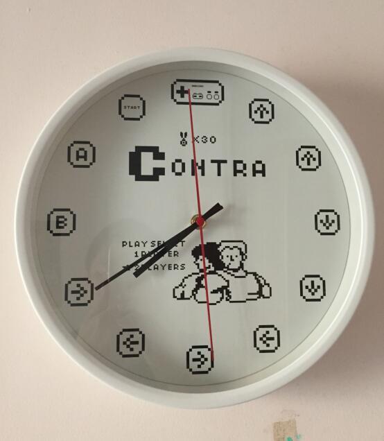 猴子时钟手工制作图片