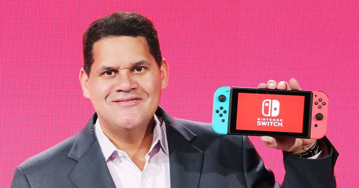 Reggie says the success of the Switch because fully learned the lesson of WiiU