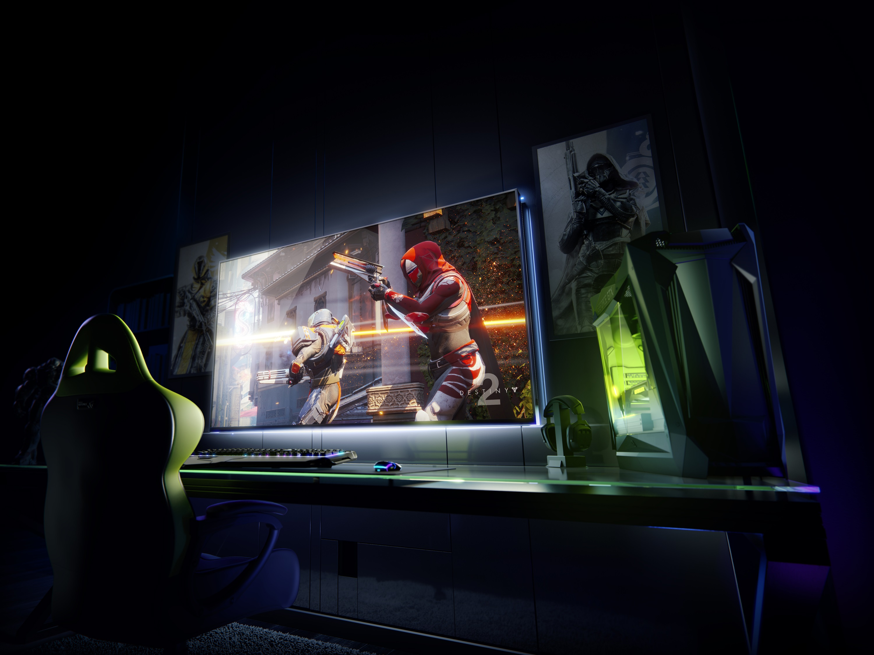 NVIDIA released 65 inch large game display specification built-in Shield host