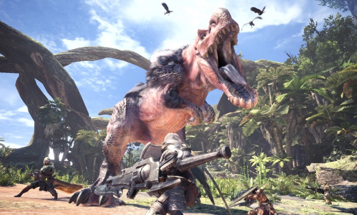 What's too hard to do with the monster hunter world? The old hunters set up a mutual aid community