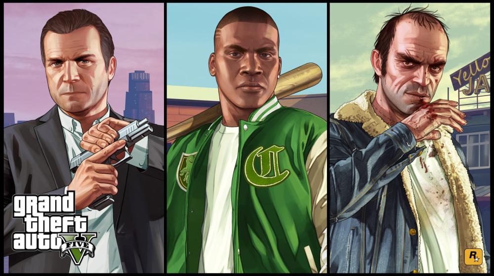 《侠盗猎车手5》去年在英国又卖了100万套