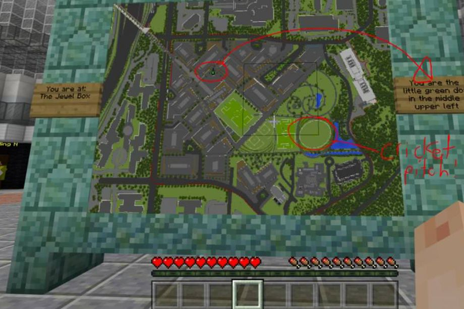 微软用《我的世界》把2022年才竣工的总部先造了出来