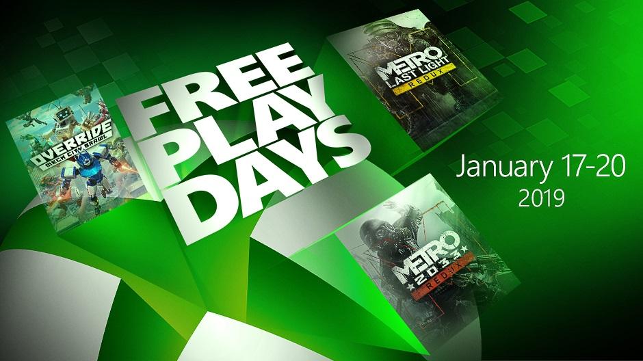 三款Xboxbetway官网手机版本周末免费玩,两部《地铁》在列