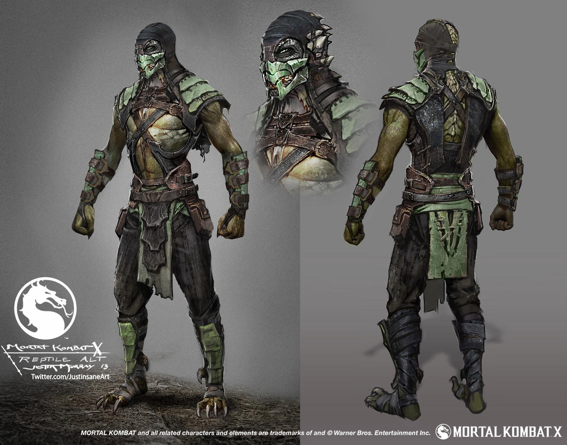 系列经典角色Reptile将会在《致命格斗11》回归