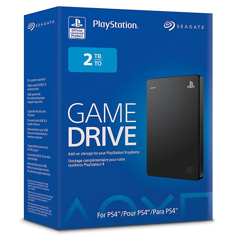 索尼与希捷联合推出新款PS4 2TB移动硬盘
