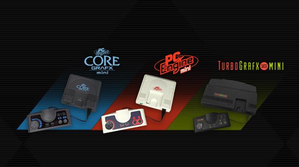 Konami 公布PC-E迷你主机 支持即时存档