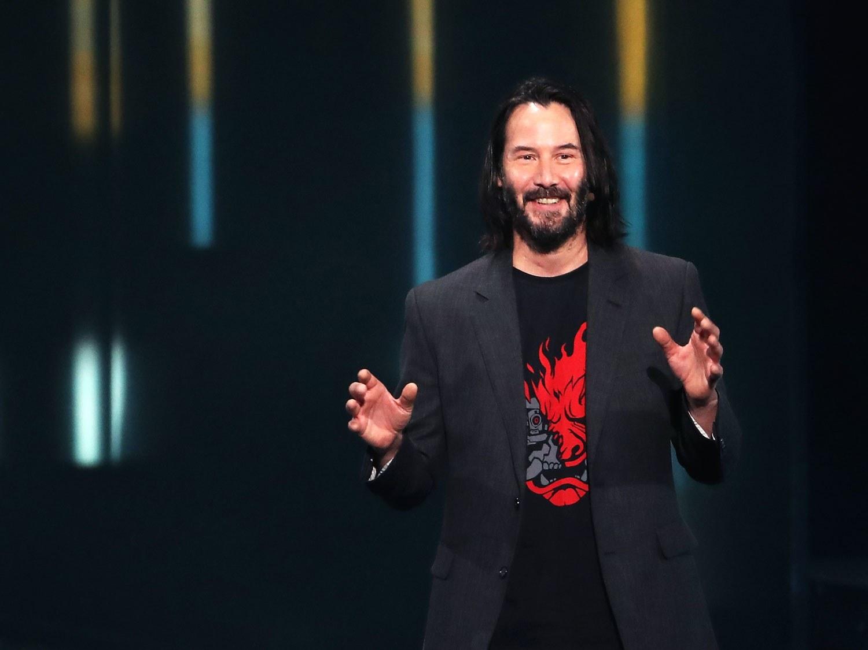 基努·里维斯:电子游戏不需要借好莱坞演员获得认可