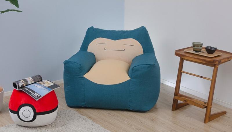 日本推出新款卡比兽沙发,靠在它的身上吧