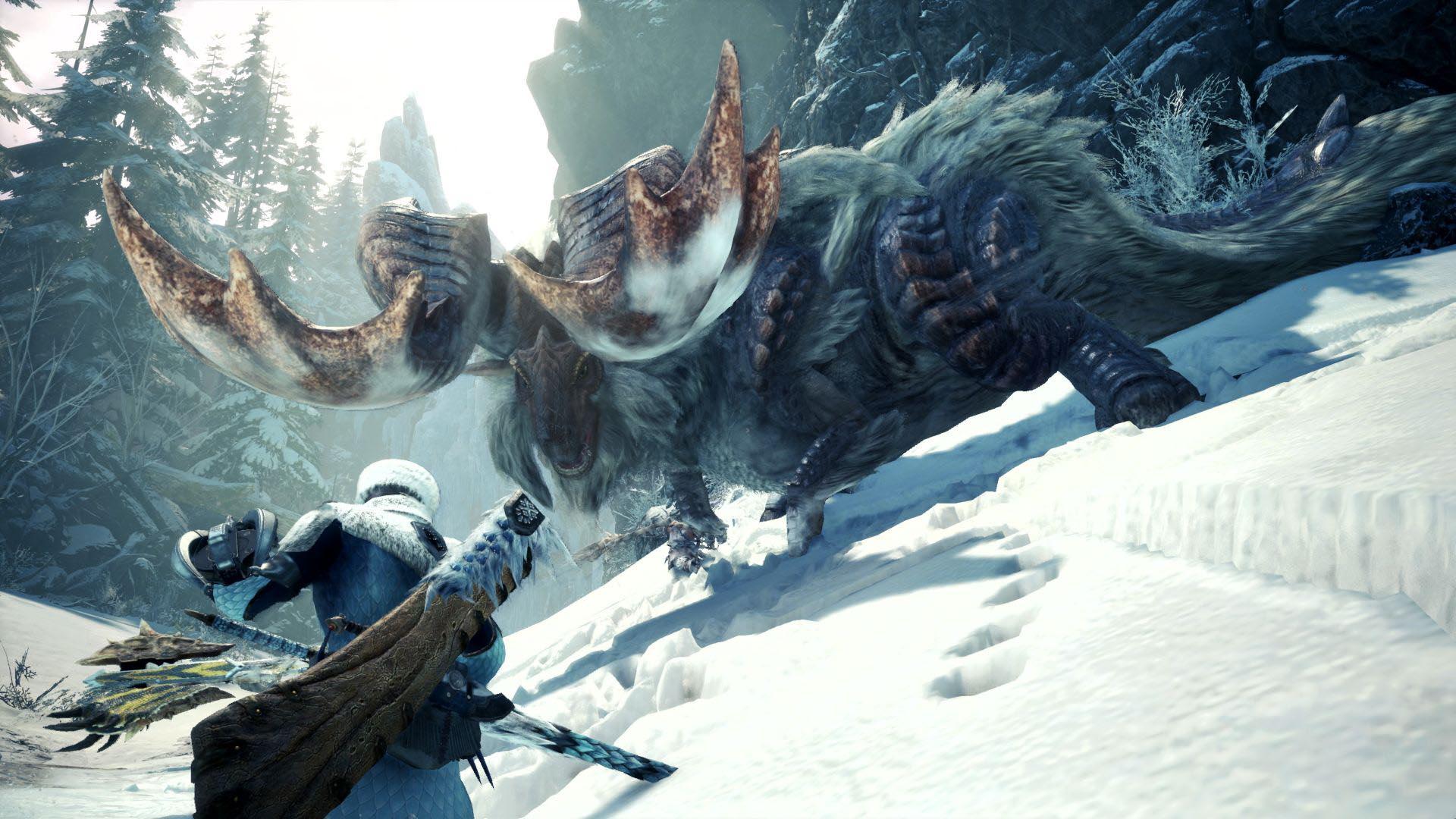就算没买「冰原」,《怪物猎人 世界》也会提供动态难度