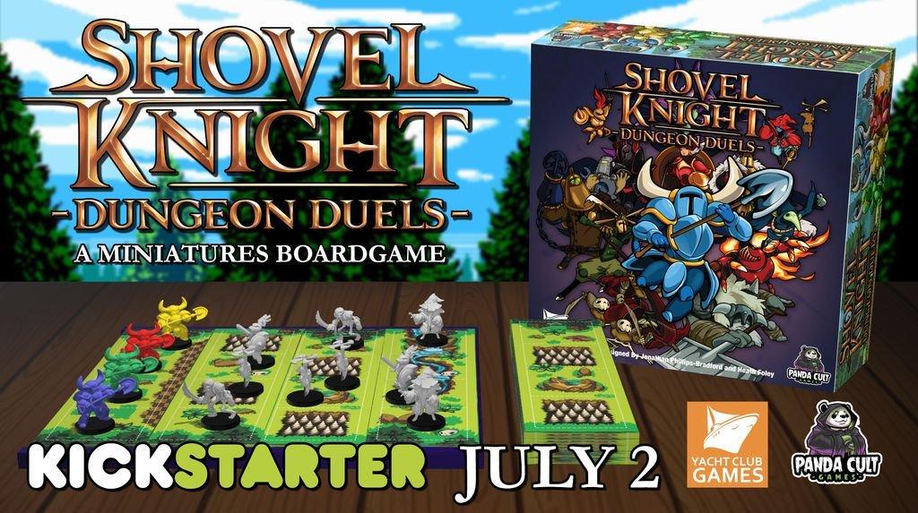 《铲子骑士》桌游将登陆Kickstarter开启众筹