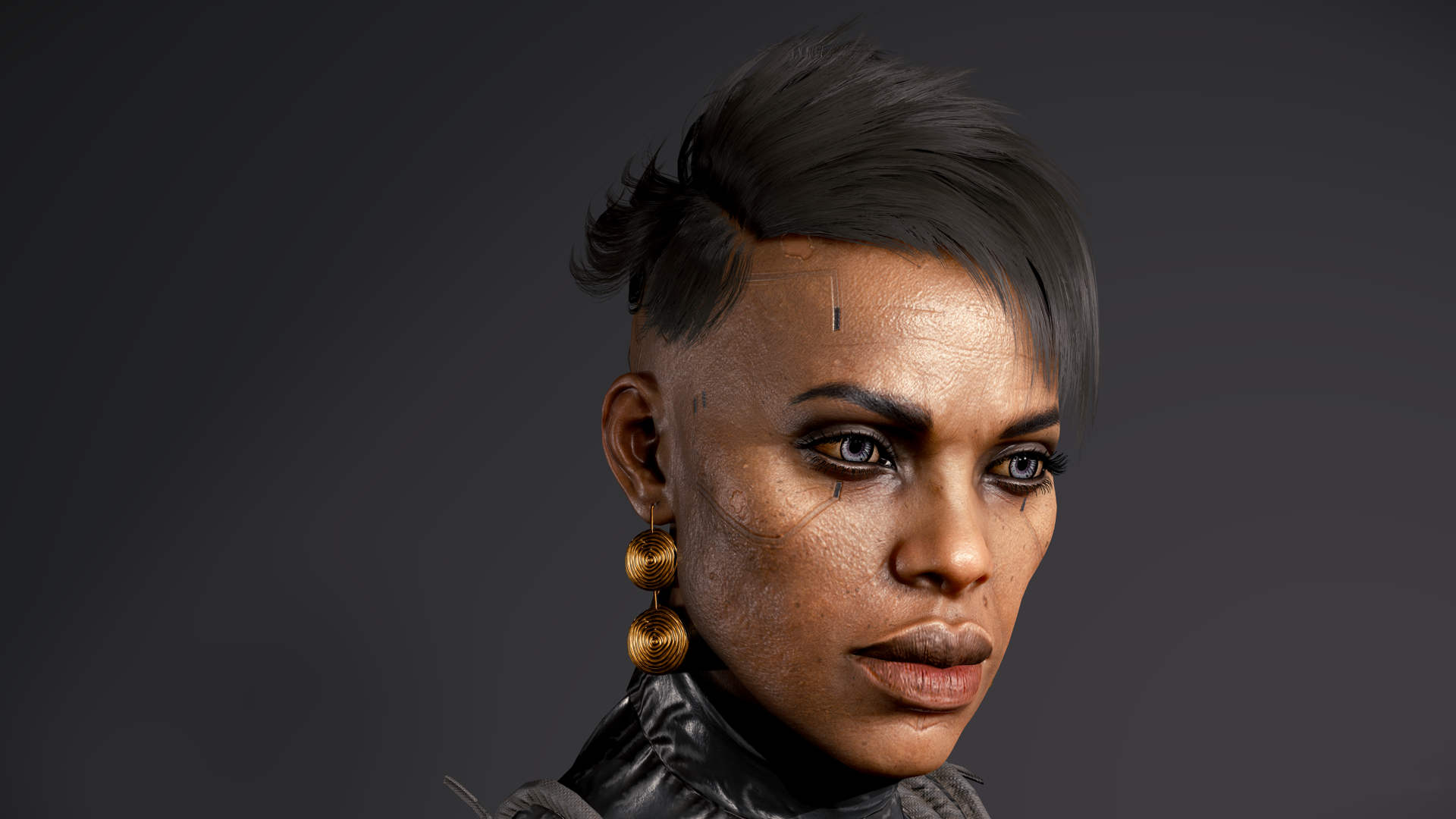 CDPR放出一批《赛博朋克2077》角色高清模型图