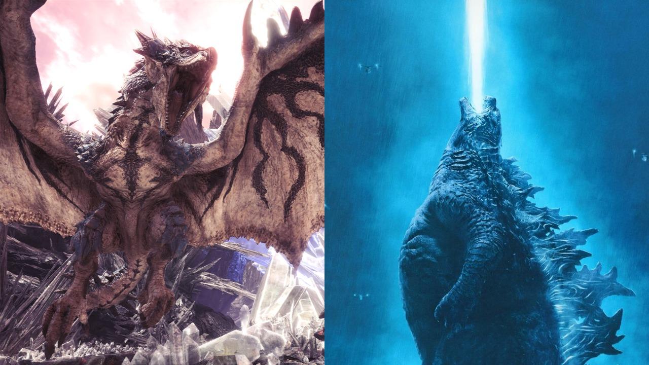 """《怪物獵人 世界》粉絲們正請愿讓""""怪獸之王""""哥斯拉加入游戲"""