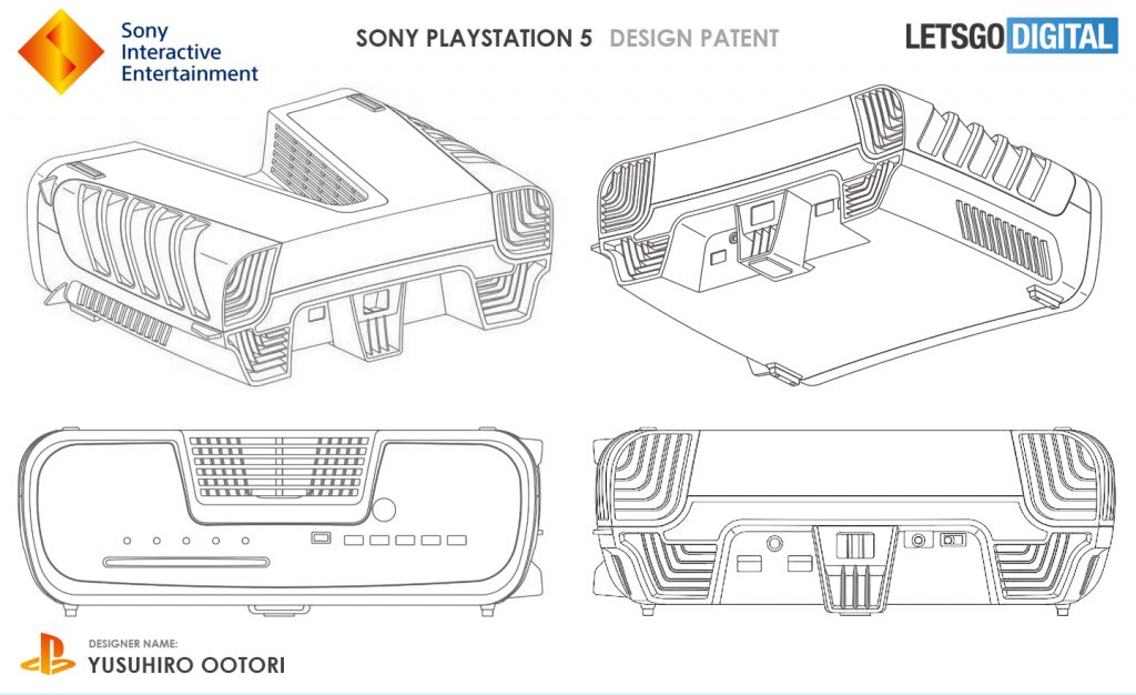 Someone has rendered the patent map of the PS5 Developer in 3D.
