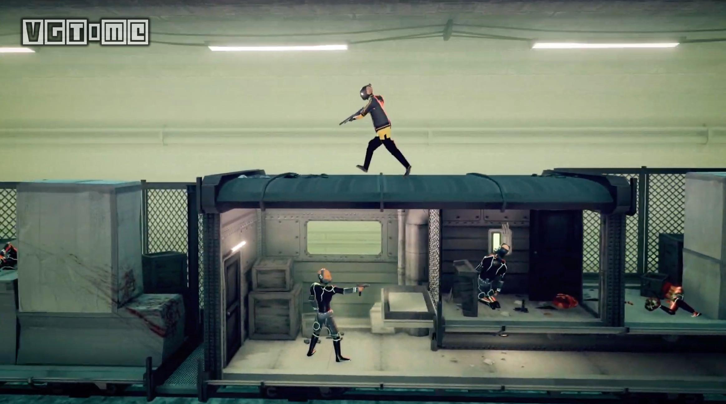 分级信息显示动作射击游戏《我的朋友佩德罗》将登陆PS4