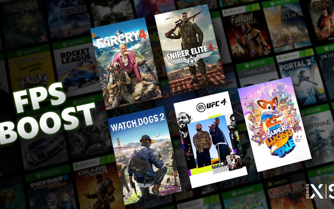 更好的向下兼容体验,Xbox Series推出提高帧数功能